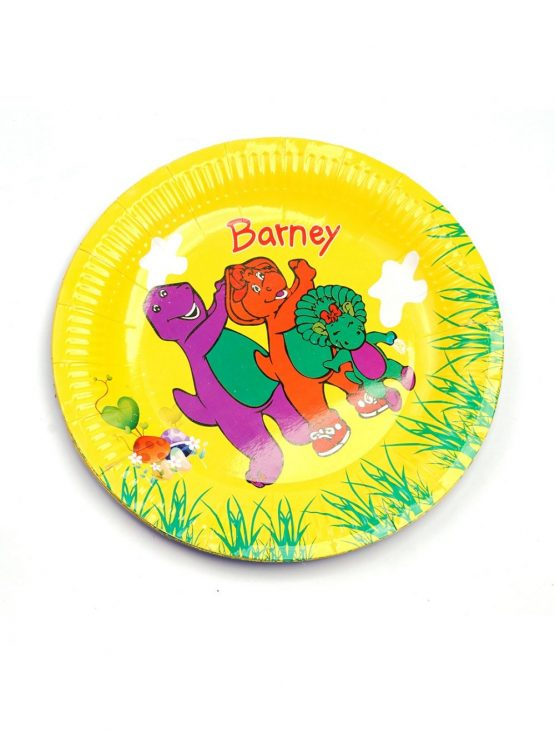 Little Sparks Birthday Disposable Plate 10pcs Barney